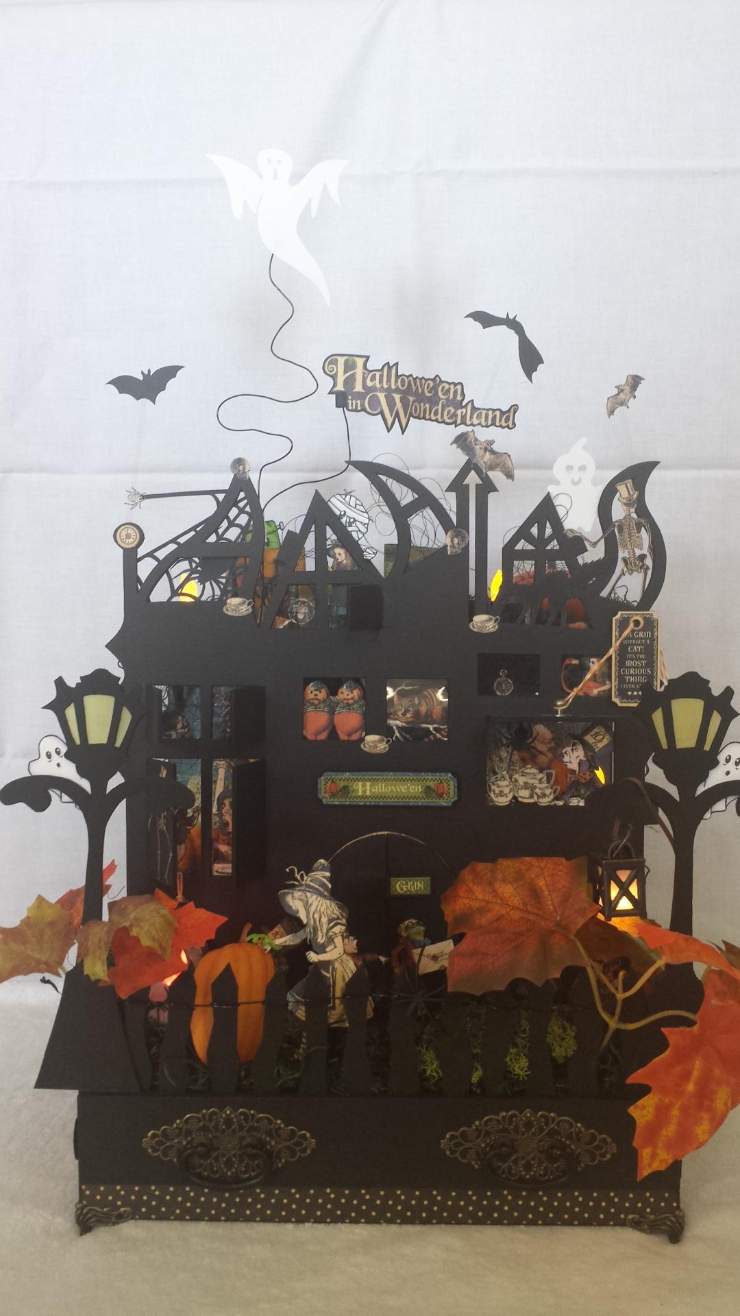 Meuble Halloween + Tiroirs